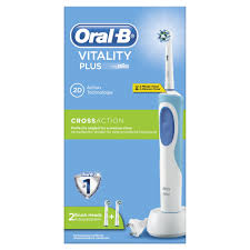 ORALB BROSSE A DENTS VITAL CROSS PLUS