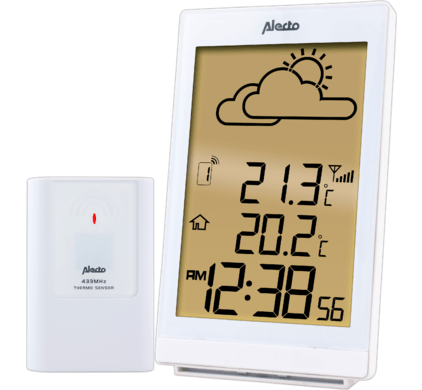 ALECTO STATION METEO WS2200 WIT