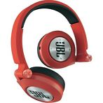 JBL ON EAR E30 SYNCHROS REMOTE/MIC ROUGE