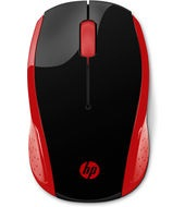 HP 200 EMPRES RED WIRELESS MOUSE