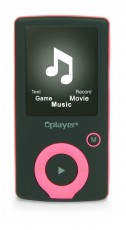 NIKKEI MP3/4 PLAYER ROSE NMP4PK
