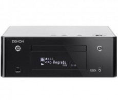 DENON CD RECEIVER RCDN-9 BLACK