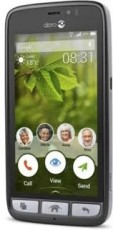DORO HP8031 SMARTPHONE BLACK/STEEL