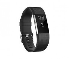 FITBIT CHARGE HR 2 ACT. TR. BLACK SMALL