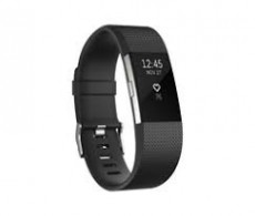 FITBIT CHARGE HR 2 ACT. TR. BLACK LARGE