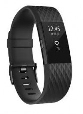 FITBIT CHARGE HR 2 ACT. TR.GUN METAL S