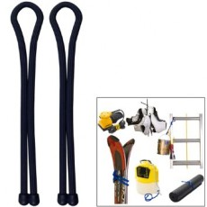 "NITE IZE GEAR TIE 24"" BLACK - 2 PCS"