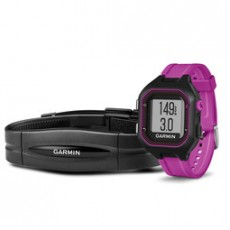 GARMIN FORERUNNER 25 SM BLACK PURPLE HRM