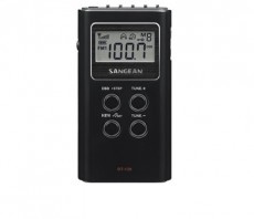SANGEAN POCKET RADIO BLACK DT120B