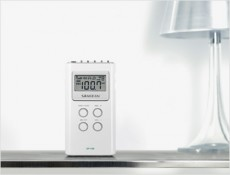 SANGEAN POCKET RADIO WHITE DT120W