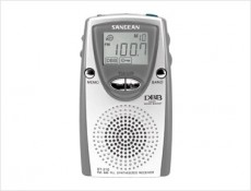 SANGEAN POCKET RADIO SILVER-GREY DT210G
