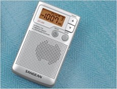 SANGEAN POCKET RADIO SILVER-GREY DT250G