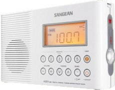 SANGEAN PORTABLE RADIO WATERPROOF H201W