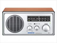 SANGEAN RETRO RADIO SANWR1WALNUT
