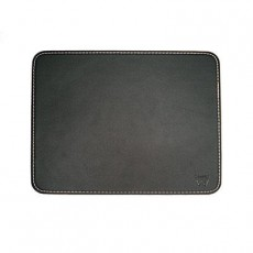 EWENT MOUSE PAD BLACK LEATHER