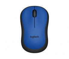 LOGITECH WIRELESS MOUSE M220 BLUE