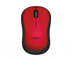 LOGITECH WIRELESS MOUSE M220 RED