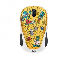 LOGITECH WIRELESS MOUSE M238 GO-GO GOLD