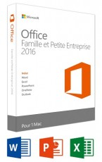MICROSOFT OFFICE MAC H&B 2016 FR