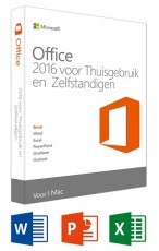 MICROSOFT OFFICE MAC H&B 2016 NL