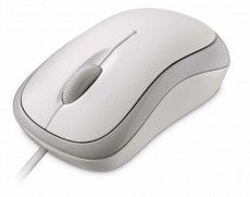 MICROSOFT BASIC MOUSE WHITE