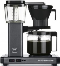MOCCAMASTER CAFETIERE GRIS   MM59624