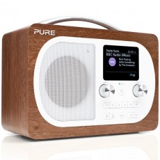 PURE EVOKE H4 WALNUT DAB+ RADIO PS5896