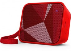 PHILIPS BT SPEAKER PORTABLE BT110R00 RED