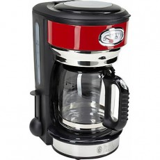 RUSSELL HOBBS CAFETIERE RED RETRO