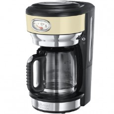 RUSSELL HOBBS CAFETIERE CREAM RETRO