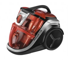 ROWENTA SILENCE FORCE MULTICYCLONIC RED