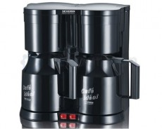 SEVERIN DUO CAFETIERE  KA5828 NOIR