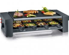 SEVERIN RACLETTE GRILL  8 PANS RG2687