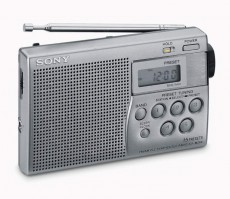 SONY DIGITAL RADIO ICFM260S SILVER