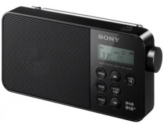 SONY PORTABLE XDRS40 BLACK DAB
