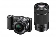 SONY ALPHA ILCE-5000 16-50MM & 55-210mm