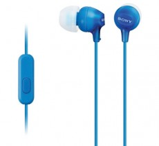 SONY IN EAR MDR-EX15AP BLUE SMARTPHONE