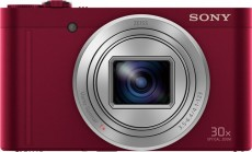 SONY COMPACT CAMERA DSC-WX500 ROUGE